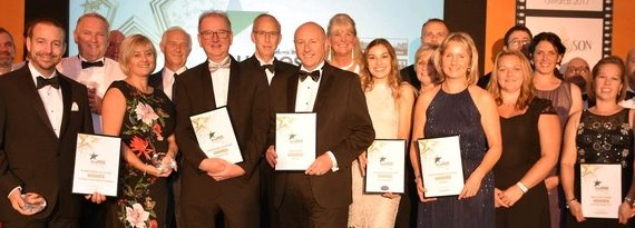 Ward Goodman sponsor the Blackmore Vale magazine Large Business of the year award